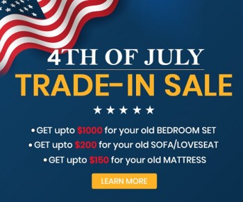 Trade-in Sale this Independence