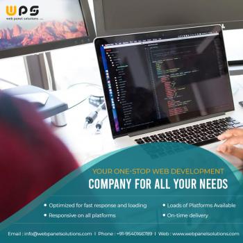 Best Web Development services - Web Panel Solutions