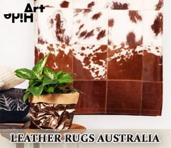 Leather Rugs Australia | ArtHide