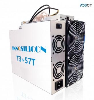 Buy INNOSILICON T3+57T BTC Miner