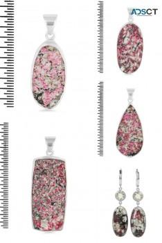 Eudialyte jewellery