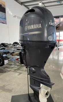 Used Yamaha 90 HP Outboard Motor