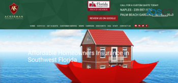 Home insurance a reasonable means of compensation for loss