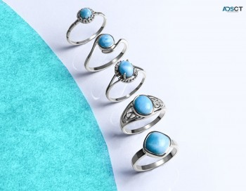 Buy Larimar Rings At Wholesale Price Fro