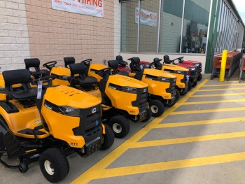 Lawnmover Tractor New Selling Home Depot